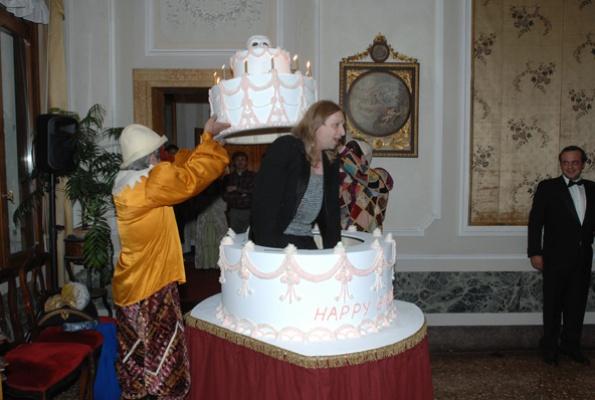 Festa di compleanno a Palazzo