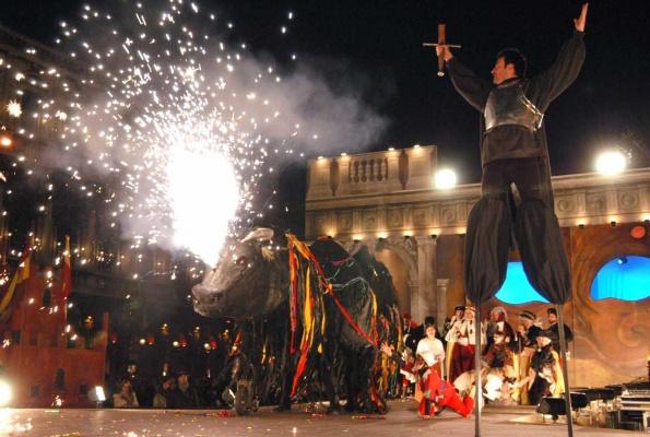 La caccia al Toro Carnevale di Venezia
